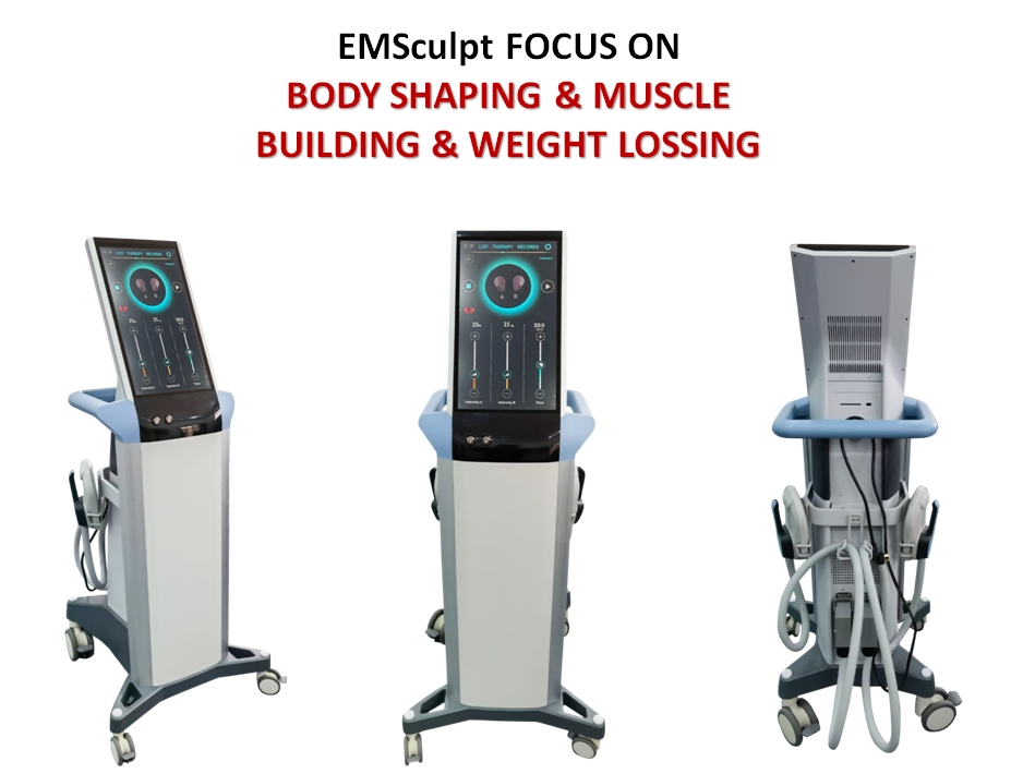 HIEMT EMSCULPT FOR BUILD MUSCLE & REDUCE FAT