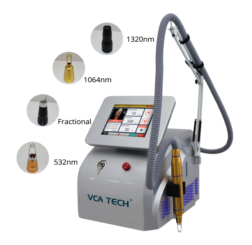 Nd YAG Picosecond Laser tattoo removal+pigment removal